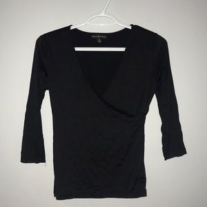 Almost Famous | Black Womens Top
